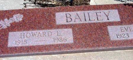 BAILEY, HOWARD L. - Yavapai County, Arizona | HOWARD L. BAILEY - Arizona Gravestone Photos