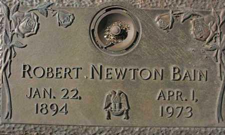 BAIN, ROBERT NEWTON - Yavapai County, Arizona | ROBERT NEWTON BAIN - Arizona Gravestone Photos