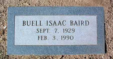 BAIRD, BUELL ISAAC - Yavapai County, Arizona | BUELL ISAAC BAIRD - Arizona Gravestone Photos