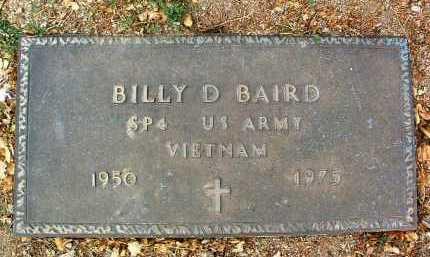 BAIRD, BILLY DON - Yavapai County, Arizona | BILLY DON BAIRD - Arizona Gravestone Photos