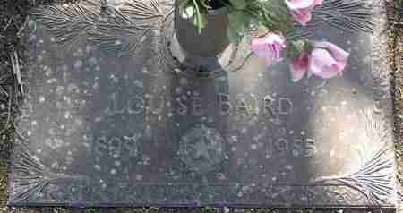 CROSS BAIRD, LOUISE - Yavapai County, Arizona | LOUISE CROSS BAIRD - Arizona Gravestone Photos