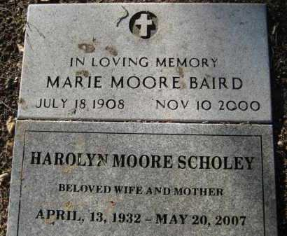 MOORE, MARIE - Yavapai County, Arizona | MARIE MOORE - Arizona Gravestone Photos