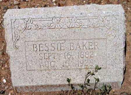 WILCOX BAKER, BESSIE - Yavapai County, Arizona | BESSIE WILCOX BAKER - Arizona Gravestone Photos
