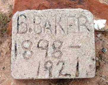 BAKER, B. - Yavapai County, Arizona | B. BAKER - Arizona Gravestone Photos