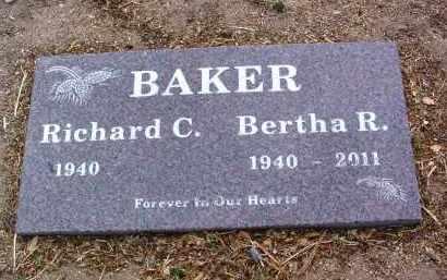 BAKER, BERTHA R. - Yavapai County, Arizona | BERTHA R. BAKER - Arizona Gravestone Photos