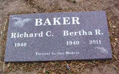 BAKER, BERTHA R. - Yavapai County, Arizona | BERTHA R. BAKER - Arizona Gravestone Photos