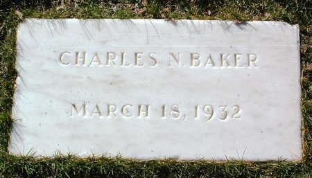 BAKER, CHARLES NELSON - Yavapai County, Arizona | CHARLES NELSON BAKER - Arizona Gravestone Photos