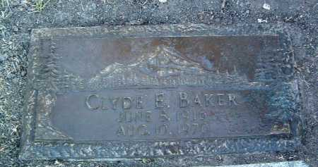 BAKER, CLYDE EZRA - Yavapai County, Arizona | CLYDE EZRA BAKER - Arizona Gravestone Photos