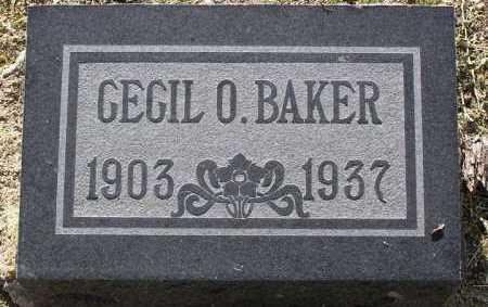 BAKER, CECIL OWEN - Yavapai County, Arizona | CECIL OWEN BAKER - Arizona Gravestone Photos
