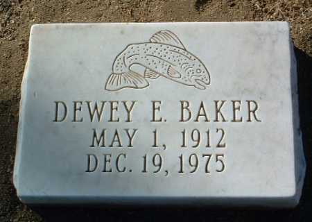 BAKER, DEWEY E. - Yavapai County, Arizona | DEWEY E. BAKER - Arizona Gravestone Photos