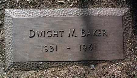 BAKER, DWIGHT MORRIS - Yavapai County, Arizona | DWIGHT MORRIS BAKER - Arizona Gravestone Photos
