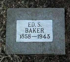 BAKER, ED SANDERS - Yavapai County, Arizona | ED SANDERS BAKER - Arizona Gravestone Photos