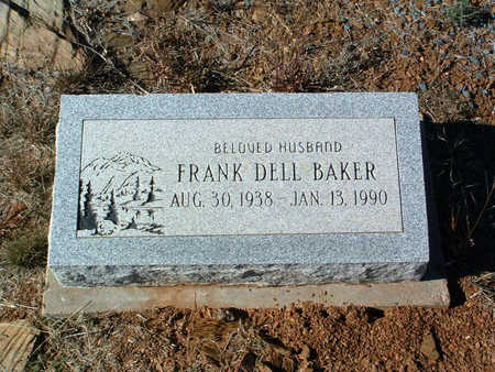 BAKER, FRANK DELL - Yavapai County, Arizona | FRANK DELL BAKER - Arizona Gravestone Photos