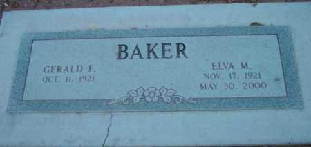 BAKER, GERALD F. - Yavapai County, Arizona | GERALD F. BAKER - Arizona Gravestone Photos