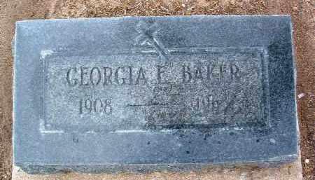 BROWN BAKER, GEORGIA E. - Yavapai County, Arizona | GEORGIA E. BROWN BAKER - Arizona Gravestone Photos
