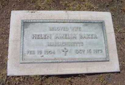 BAKER, HELEN AMELIA - Yavapai County, Arizona | HELEN AMELIA BAKER - Arizona Gravestone Photos