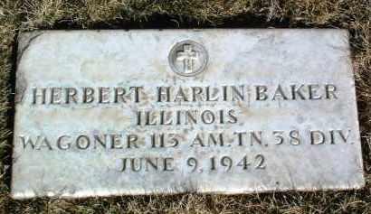 BAKER, HERBERT HARLIN - Yavapai County, Arizona | HERBERT HARLIN BAKER - Arizona Gravestone Photos