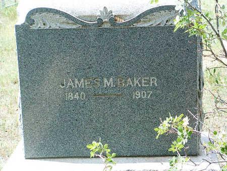 BAKER, JAMES MARION - Yavapai County, Arizona | JAMES MARION BAKER - Arizona Gravestone Photos