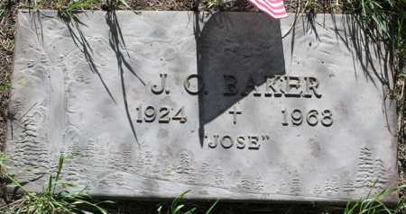 BAKER, JOSEPH ORLIE (JOSE) - Yavapai County, Arizona | JOSEPH ORLIE (JOSE) BAKER - Arizona Gravestone Photos