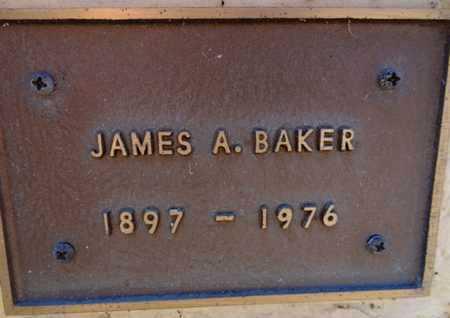 BAKER, JAMES ALBERT - Yavapai County, Arizona   JAMES ALBERT BAKER - Arizona Gravestone Photos