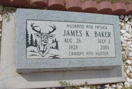 BAKER, JAMES KENNETH - Yavapai County, Arizona   JAMES KENNETH BAKER - Arizona Gravestone Photos