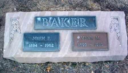 BAKER, VEVA U. - Yavapai County, Arizona | VEVA U. BAKER - Arizona Gravestone Photos