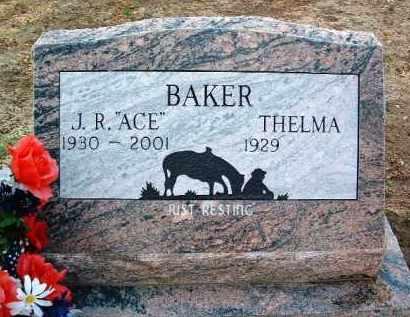 BAKER, JUNIOR RAY (J. R.) - Yavapai County, Arizona | JUNIOR RAY (J. R.) BAKER - Arizona Gravestone Photos