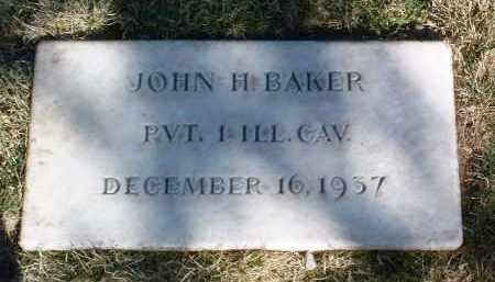 BAKER, JOHN H. - Yavapai County, Arizona | JOHN H. BAKER - Arizona Gravestone Photos