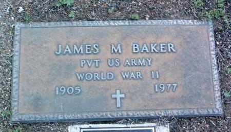 BAKER, JAMES M. - Yavapai County, Arizona   JAMES M. BAKER - Arizona Gravestone Photos
