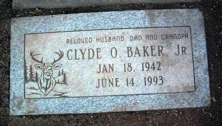 BAKER, CLYDE ORIN - Yavapai County, Arizona | CLYDE ORIN BAKER - Arizona Gravestone Photos
