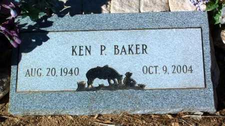 BAKER, KEN P. - Yavapai County, Arizona   KEN P. BAKER - Arizona Gravestone Photos
