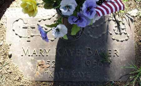 BAKER, MARY KAYE - Yavapai County, Arizona | MARY KAYE BAKER - Arizona Gravestone Photos