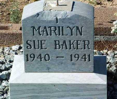 BAKER, MARILYN SUE - Yavapai County, Arizona   MARILYN SUE BAKER - Arizona Gravestone Photos