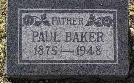 BAKER, PAUL - Yavapai County, Arizona | PAUL BAKER - Arizona Gravestone Photos