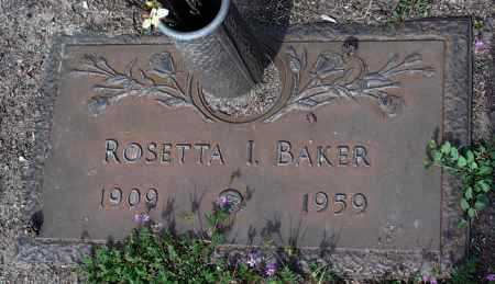 BAKER, ROSETTA ISABEL - Yavapai County, Arizona | ROSETTA ISABEL BAKER - Arizona Gravestone Photos