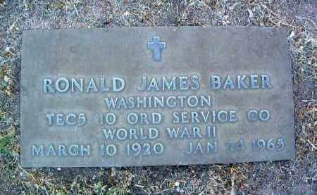 BAKER, RONALD JAMES - Yavapai County, Arizona | RONALD JAMES BAKER - Arizona Gravestone Photos