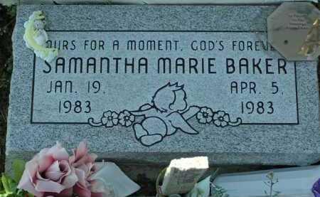 BAKER, SAMANTHA MARIE - Yavapai County, Arizona | SAMANTHA MARIE BAKER - Arizona Gravestone Photos