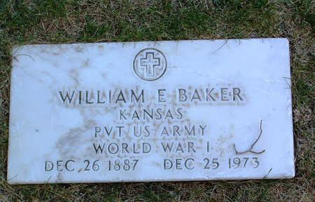 BAKER, WILLIAM E. - Yavapai County, Arizona | WILLIAM E. BAKER - Arizona Gravestone Photos