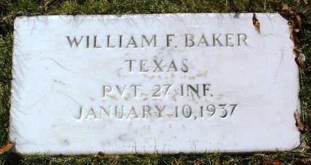 BAKER, WILLIAM  FRED - Yavapai County, Arizona   WILLIAM  FRED BAKER - Arizona Gravestone Photos