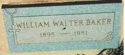 BAKER, WILLIAM WALTER - Yavapai County, Arizona | WILLIAM WALTER BAKER - Arizona Gravestone Photos