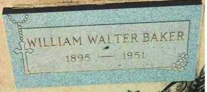 BAKER, WILLIAM WALTER - Yavapai County, Arizona   WILLIAM WALTER BAKER - Arizona Gravestone Photos