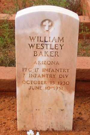 BAKER, WILLIAM WESTLEY - Yavapai County, Arizona | WILLIAM WESTLEY BAKER - Arizona Gravestone Photos