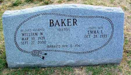 BAKER, WILLIAM W. - Yavapai County, Arizona | WILLIAM W. BAKER - Arizona Gravestone Photos
