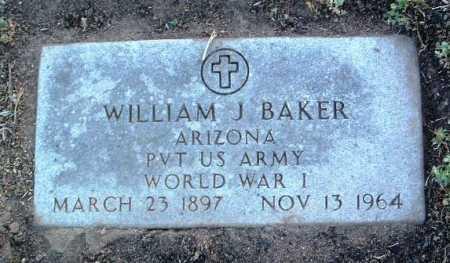 BAKER, WILLIAM JACKSON - Yavapai County, Arizona | WILLIAM JACKSON BAKER - Arizona Gravestone Photos