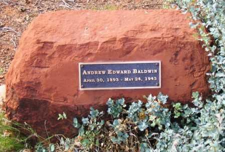 BALDWIN, ANDREW EDWARD - Yavapai County, Arizona   ANDREW EDWARD BALDWIN - Arizona Gravestone Photos