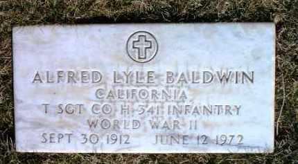 BALDWIN, ALFRED LYLE - Yavapai County, Arizona | ALFRED LYLE BALDWIN - Arizona Gravestone Photos