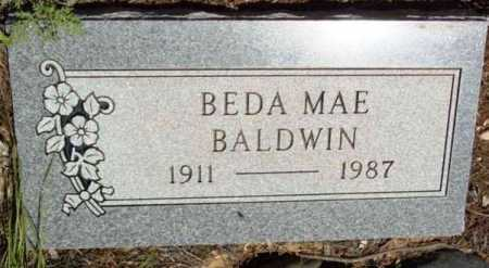 BALDWIN, BEDA MAE - Yavapai County, Arizona   BEDA MAE BALDWIN - Arizona Gravestone Photos