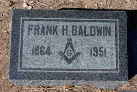 BALDWIN, FRANK HERON - Yavapai County, Arizona   FRANK HERON BALDWIN - Arizona Gravestone Photos