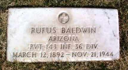 BALDWIN, RUFUS - Yavapai County, Arizona | RUFUS BALDWIN - Arizona Gravestone Photos