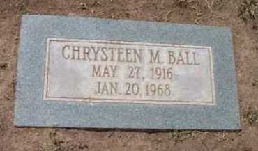BALL, CHRYSTEEN MARIE - Yavapai County, Arizona | CHRYSTEEN MARIE BALL - Arizona Gravestone Photos
